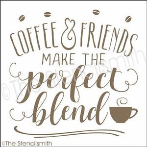 3513 - Coffee & Friends make the perfect blend