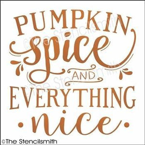 3598 - Pumpkin Spice and everything nice
