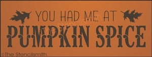 3599 - You had me at PUMPKIN SPICE
