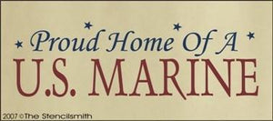 360 - Proud Home of a U.S. MARINE