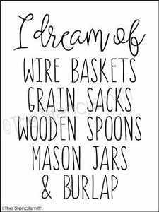 3712 - I dream of... wire baskets