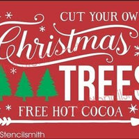 3717 - Cut your own Christmas TREES