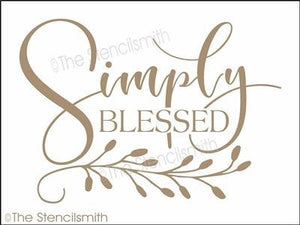 4265 - Simply Blessed