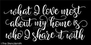 4287 - What I love most about my home
