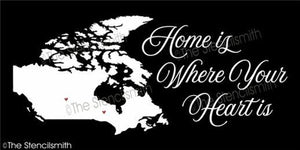 4322 - Home is where your heart is - CANADA