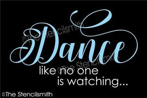 4341 - dance like no one is watching