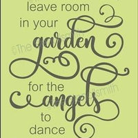 4419 - leave room in your garden