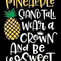 4437 - be a pineapple