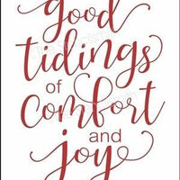 4527 - good tidings of comfort and joy