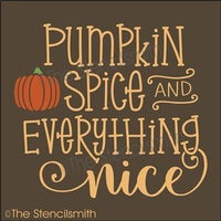 4529 - pumpkin spice and everything nice
