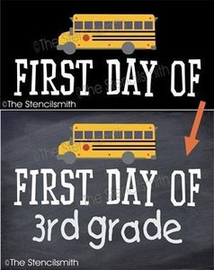 4552 - First Day Of School