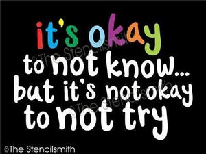 4557 - it's okay to not know