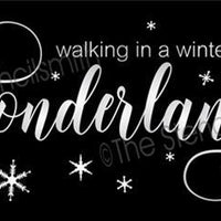 4716 - walking in a winter wonderland