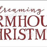 4793 - I'm dreaming of a farmhouse Christmas