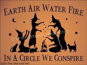 48 - Earth Air Water Fire ... Circle Conspire