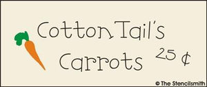 CottonTail's Carrots 25c