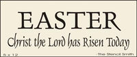 EASTER Christ the Lord has Risen Today