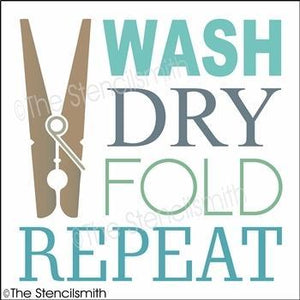 4940 - Wash Dry Fold Repeat