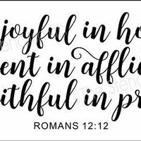 4953 - be joyful in hope