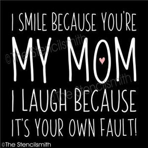 4966 - I smile because you're my mom