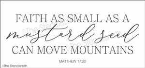 5043 - Faith as small as a mustard seed
