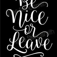 5045 - be nice or leave