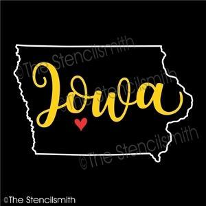 5053 - Iowa (state outline)