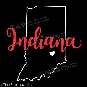 5058 - Indiana (state outline)