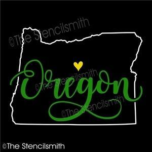 5061 - Oregon (state outline)