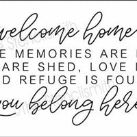 5063 - welcome home where