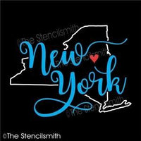 5065 - New York (state outline)