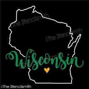 5066 - Wisconsin (state outline)