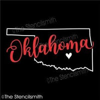 5074 - Oklahoma (state outline)