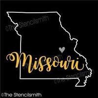5075 - Missouri (state outline)