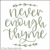 5111 - never enough thyme