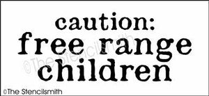 5157 - caution free range children