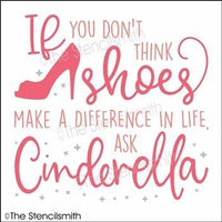 5158 - If you don't think shoes