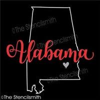 5211 - Alabama (state outline)