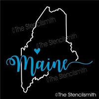 5216 - Maine (state outline)