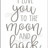 5236 - I love you to the moon
