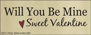 523 - Will You Be Mine Sweet Valentine
