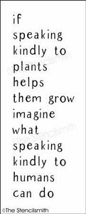 5249 - if speaking kindly to plants