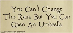 525 - You can't change the rain