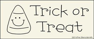 Trick or Treat - candy corn