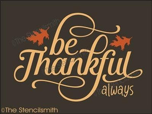 5307 - be thankful always