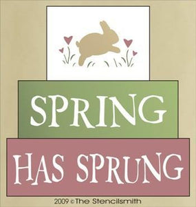 540 - Spring Has Sprung - block set