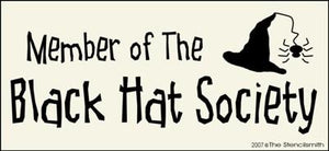 Member of The Black Hat Society
