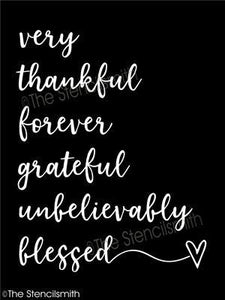 5485 - very thankful forever grateful