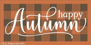5487 - Happy Autumn (plaid)
