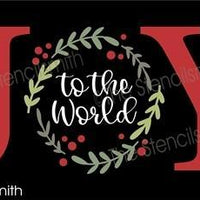 5589 - JOY to the world